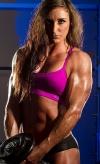 Girl with muscle - Hayley Brylewski