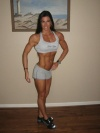 Girl with muscle - Kim Eskdale Haines