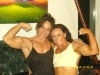 Girl with muscle - Annie Rivieccio (L) - Treacy Kiely (R)