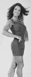 Girl with muscle - Leslie Dzinzalet Jones