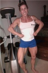 Girl with muscle - Paula Francis
