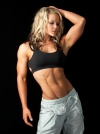 Girl with muscle - Nicole Wilkins