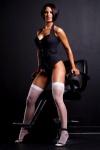 Girl with muscle - Jordan Mandagaran