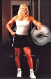 Girl with muscle - Strength