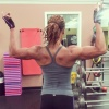 Girl with muscle - andrea