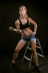 Girl with muscle - Anna Efremova