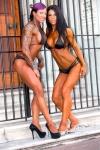 Girl with muscle - Mikaila Soto (L) - Toni Perdikakis (R)