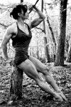 Girl with muscle - Ashmara Brader