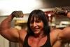 Girl with muscle - Irene Andersen