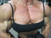 Girl with muscle - Tazzie Colomb