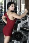Girl with muscle - Sri Jadiah Alnur
