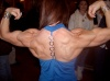 Girl with muscle - Michelle Laurin