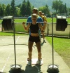 Girl with muscle - Kajsa Bergqvist