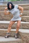 Girl with muscle - amanda aivaliotis