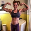 Girl with muscle - vicky Bradley
