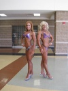 Girl with muscle - Jamie Bell (L) - Kristin Johnson (R)