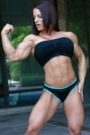 Girl with muscle - Mz Devious