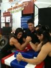 Girl with muscle - Roongtawan Jindasing, Apiporn Chomsomboon