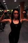 Girl with muscle - Nina Gjengaar
