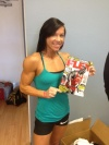 Girl with muscle - Samantha Hill