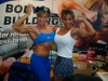 Girl with muscle - Valentina Chepiga (L) - Shelly Yamichuck (R)