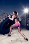 Girl with muscle - Jillian Michaels