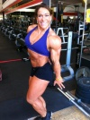 Girl with muscle - Sarah Hayes