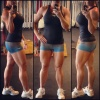 Girl with muscle - Lisa Sanders