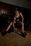 Girl with muscle - Elina Gook