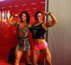 Girl with muscle - Jacqueline Fuchs (L) Suzy Kellner (R)