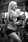 Girl with muscle - Lisa Callingham