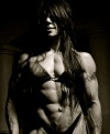 Girl with muscle - Geraldine Morgan