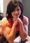 Girl with muscle - Peggy Eberhart