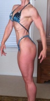 Girl with muscle - Peggy Golden Hayes