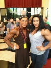 Girl with muscle - Alyssa Stroud (L) - Alina Popa (R)