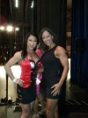 Girl with muscle - Tracy Bodner (L) - Brandi Rowland-Richards (R)