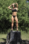 Girl with muscle - CeaAnna Kerr