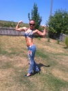 Girl with muscle - Snezana Petrovic