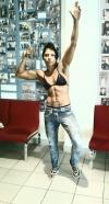 Girl with muscle - Margarita Keller