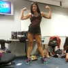 Girl with muscle - Aline Riscado