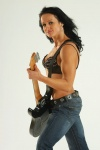 Girl with muscle - Sylvia Malachovska