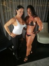 Girl with muscle - Samantha Kelly (L) - Julie Lockhart (R)
