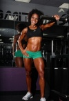 Girl with muscle - alicia harris