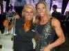 Girl with muscle - Regiane Da Silva (L) - Diana Monteiro (R)