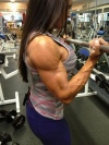 Girl with muscle - Katie Bartlett Davis