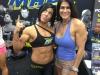 Girl with muscle - dana linn bailey - chela garcia