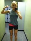 Girl with muscle - Lauren Gregory (LGregory10)