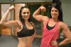 Girl with muscle - Sophie Poisson, Christina Richard