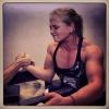 Girl with muscle - Sarah Backman