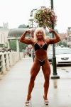 Girl with muscle - yvonne edmunds